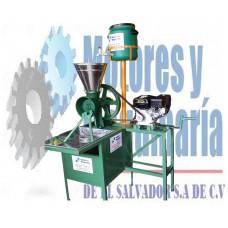 MOLINO DE NIXTAMAL 1 TOLVA TIPO CANGURO INDUSTRIAL GASOLINA