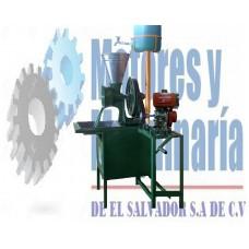 Molino de Nixtamal 1 Tolva Tipo Canguro Industrial