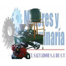 Molino de Nixtamal 2 Tolvas Tipo Transmisión Diesel