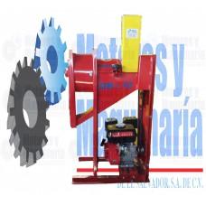 DESGRANADORA DE MAÍZ MODELO DM – 10 CON MOTOR GASOLINA 6.5 HP