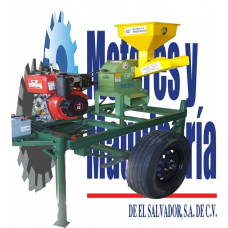MOLINO DE MARTILLO COMBINADO CON PICADORA MODELO TP-24 CON MOTOR DIESEL 12 HP